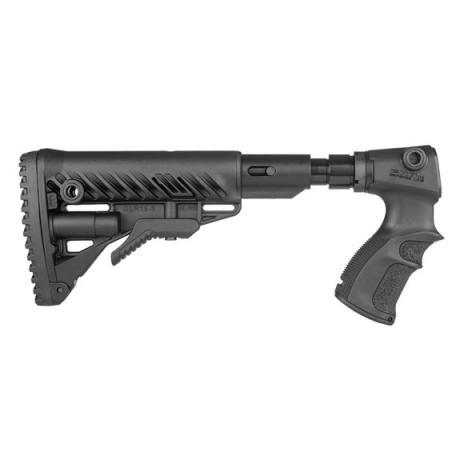AGR-870 FK SB - Teleskopická pevná pažba M4 s absorberem a pistolovou rukojetí pro Remington 870