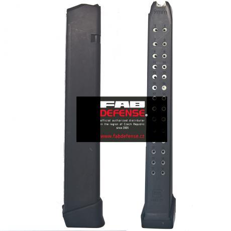 4422-02 - Originální zásobník Glock 9mm (9x19) na 33 ran