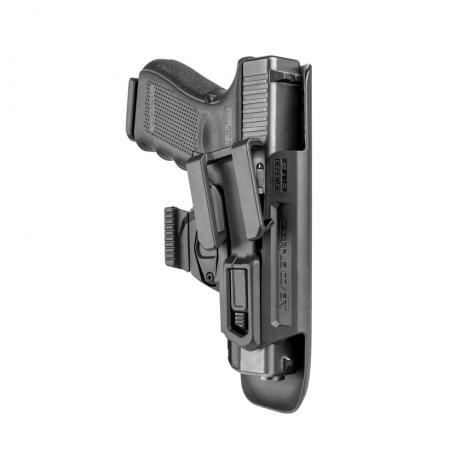 Covert G9 - Polymerové pouzdro na skryté nošení Glock 9mm, CZ P-10, W P99 pro praváka