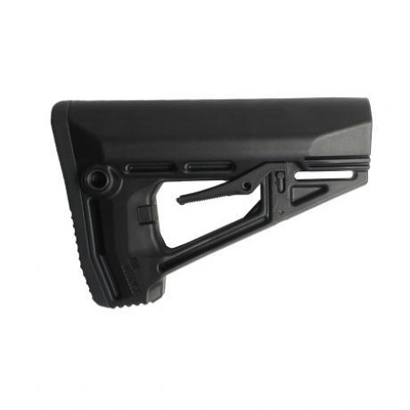 IMI-ZS102 - Taktická pažba pro M16/AR15/M4 s gumovou botkou černá