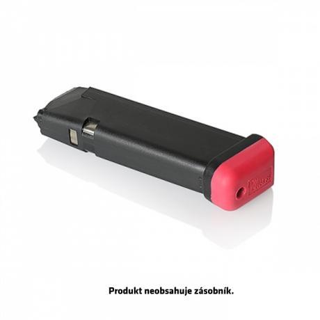 IMI-PFP02 - Pogumovaná patka na zásobníky Glock - červená
