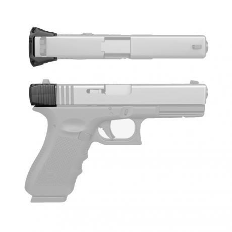 REC-GCH - Grip na natažení závěru Glock 17/19/22/23/24/26/27/35 - černý