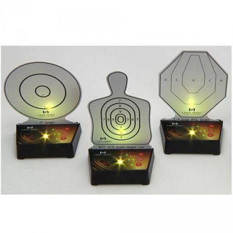 i-MTTS-3 - Sestava 3 interaktivních laserových terčů