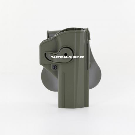IMI-Z1450 - IMI Defense pouzdro s pojistkou pro CZ Shadow 2, CZ P-09 zelené