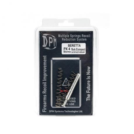 MS-BE/6 - Vratná pružina DPM Systems s redukcí zpětného rázu pro BERETTA PX4 SUBCOMPACT (9mm / 9x21 / 40s&w)