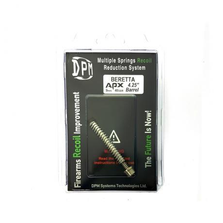 MS-BE/APX - Vratná pružina DPM Systems s redukcí zpětného rázu pro BERETTA APX Barrel 4.25