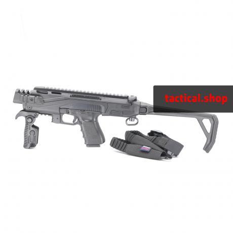 KPOS Scout Standard - Konverze pro pistole Glock 17, 19 (Gen 3, 4, 5), 19X, 45 - černá