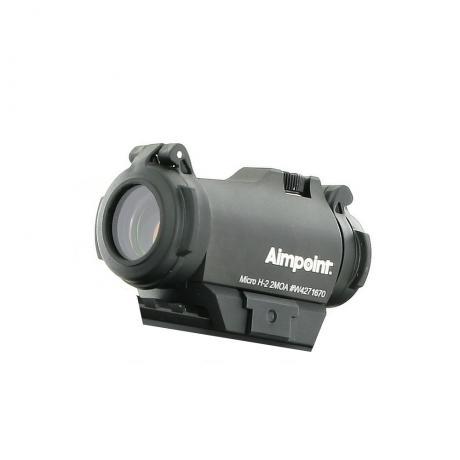 Micro H2-2 - Kolimátor Aimpoint Micro H2, 2 MOA Red Dot