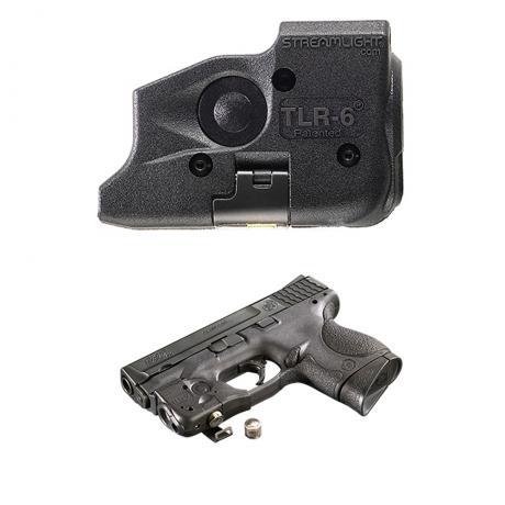 SML69290 - TLR-6 pro Glock 17,19,21,22,23,29,35, 100 lm, červený laser