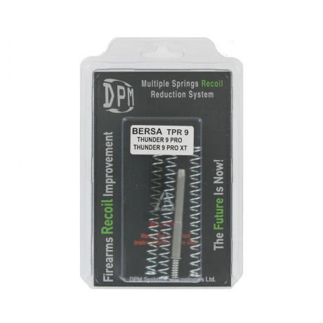 MS-BERSA/1 - Vratná pružina s redukcí zpětného rázu DPM pro BERSA TPR 9, THUNDER 9 PRO, THUNDER 9 PRO XT