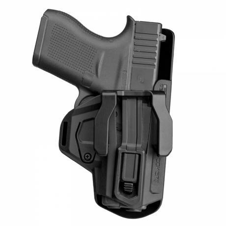 Covert G43 RH - Polymerové pouzdro na skryté nošení Glock 43 pro praváka - černé