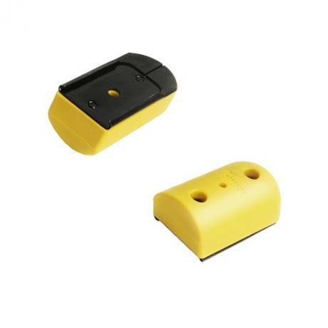 IMI-PFP01 - Pogumovaná patka na kovové zásobníky (9mm .40 .357) - žlutá