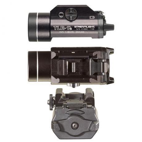 TLR-1s - Podvěsná zbraňová LED svítilna se stroboskopem 300lm