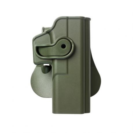 IMI-Z1050 - Polymerové pouzdro IMI Defense pro Glock 20/21/37/38 zelené