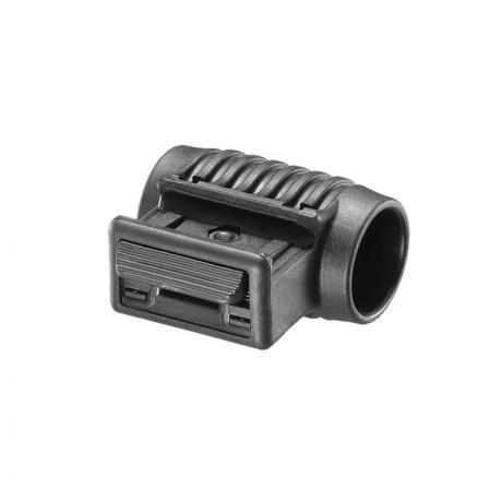 PLS 1 - Držák na svítilnu - 1 palec černý