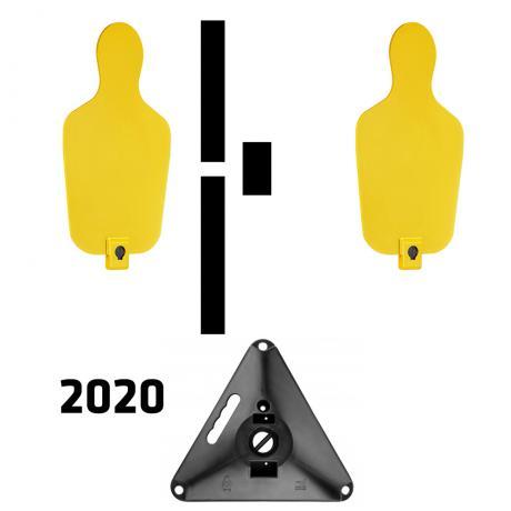 RTS 2 2020 - RTS Targets - Pevný terčový set verze 2020 - žlutá