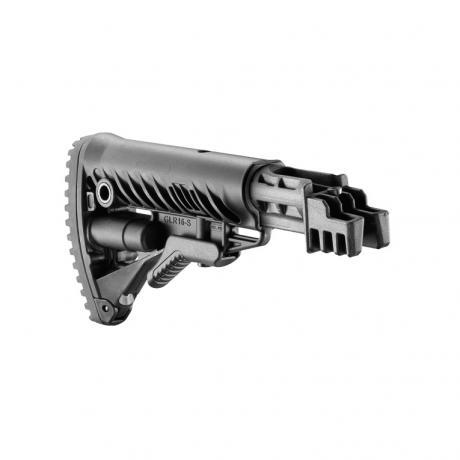 RBT-47FK - Pevná polymerová pažba typ M16 pro AK-47 bez absorberu černá