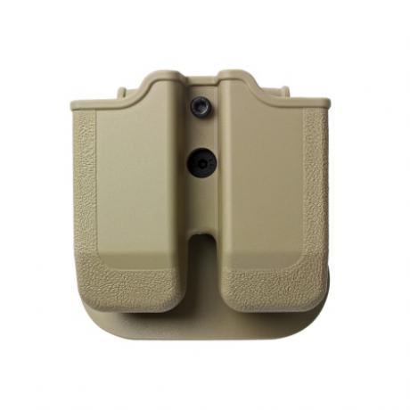 IMI-Z2020 - MP02 - polymerové pouzdro IMI Defense na 2 zásobníky (Glock 20, 21, 30, 36) - pískové
