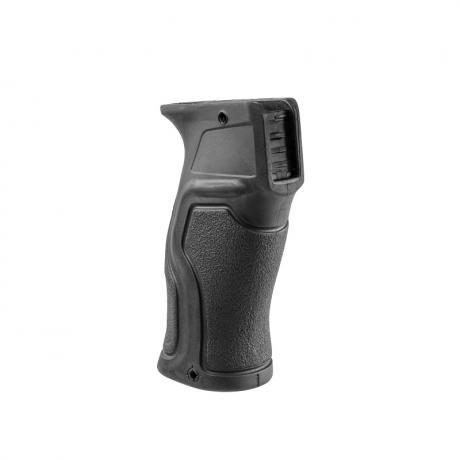 GRADUS AK - Ergonomická pistolová pogumovaná rukojeť pro platformy typu AK - černá