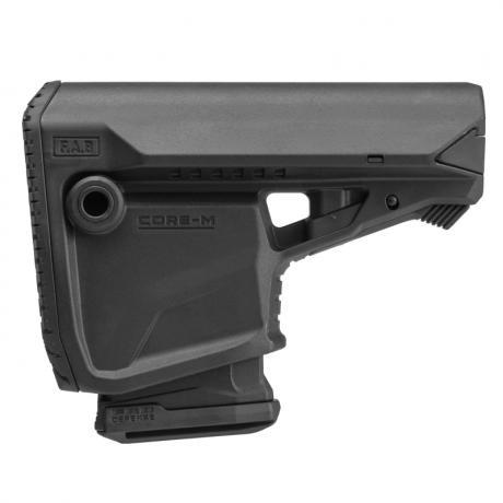 GL-CORE M - Samostatná pažba GL-CORE s integrovaným držákem a 10r zásobníkem pro M4/M16/AR15 černá