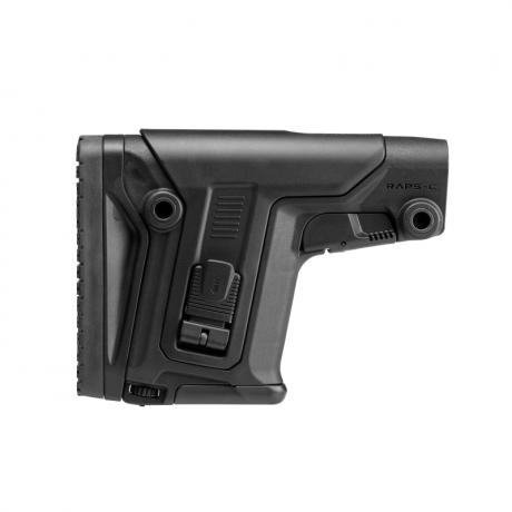 RAPS C - Posuvná sniper pažba s inovovanou lícnicí - černá