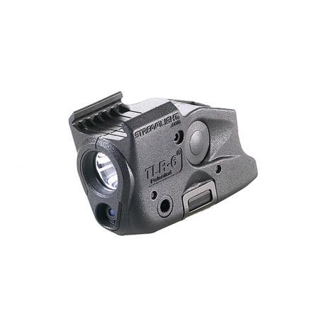 SML69286 - Taktická LED svítilna s červeným laserem TLR-6 pro Glock 43X/48