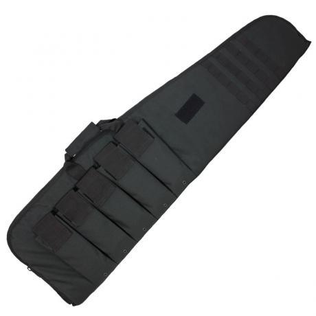 16191002-903  - Pouzdro Mil-Tec na dlouhou zbraň, černé (120 cm)