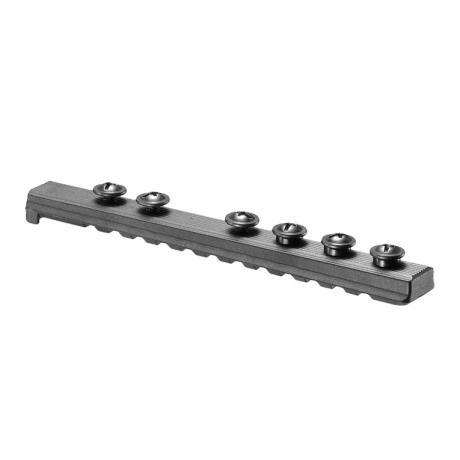 UPR 16/4 - Polymerový Picatinny rail pro M16/M4 černý