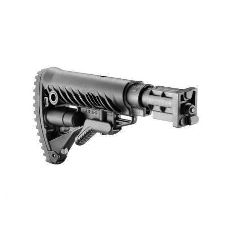 SBT-V58FK - Pevná pažba pro SA 58 typ M16 s absorberem polymerová černá