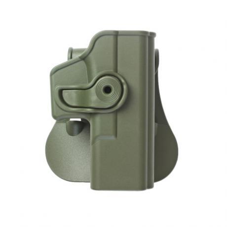 IMI-Z1020 - Polymerové pouzdro IMI Defense pro Glock 19/23/32 s pádlem - zelené