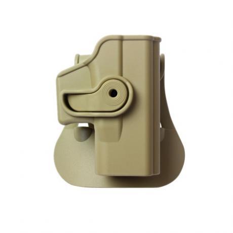 IMI-Z1040 - Polymerové pouzdro IMI Defense pro Glock 26/27/33/36 - pískové