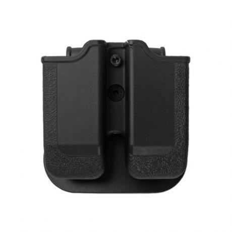 IMI-Z2020 - MP02 - polymerové pouzdro IMI Defense na 2 zásobníky (Glock 20, 21, 30, 36) - černé