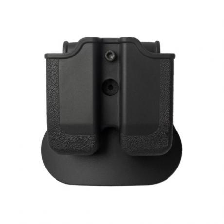 IMI-Z2030 - MP03 - polymerové pouzdro IMI Defense na 2 zásobníky (Beretta, Browning, Colt, CZ, EAA, Keltec, Magnum, SW, Sig, Taurus, Walther) - černé