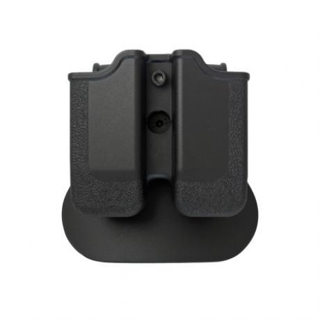 IMI-Z2040 - MP04 - polymerové pouzdro IMI Defense na 2 zásobníky (CZ P-09, Beretta PX4, HK P30, Ruger, Steyr, SW, Taurus) - černé