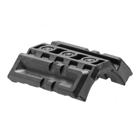 DPR 16/4 - Dvojitý Picatinny rail pro M16/M4/AR15 černý