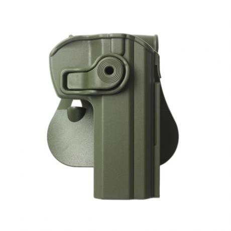 IMI-Z1330 - Polymerové pouzdro IMI Defense pro CZ 75/75 B COMPACT/75 OMEGA - zelené