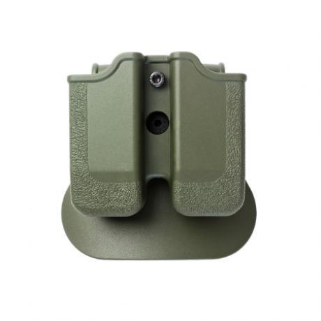 IMI-Z2040 - MP04 - polymerové pouzdro IMI Defense na 2 zásobníky (Beretta PX4, HK P30, Ruger, Steyr, SW, Taurus) - zelené