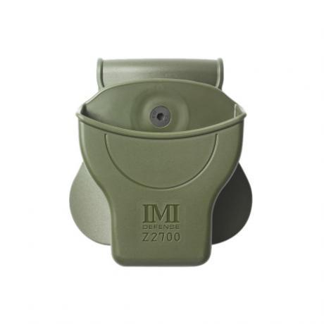 IMI-Z2700 - Opaskový držák na policejní pouta - zelený