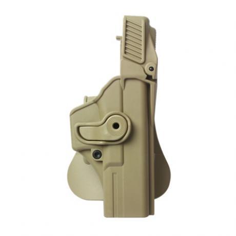 IMI-Z1410 - Level 3  - Polymerové pouzdro IMI Defense pro Glock 17/22/31 pískové