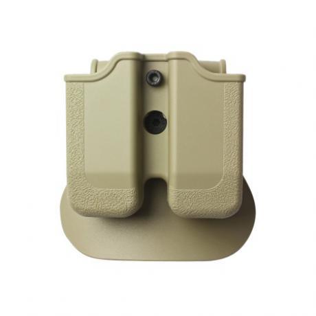 IMI-Z2030 - MP03 - polymerové pouzdro IMI Defense na 2 zásobníky (Beretta, Browning, Colt, CZ, EAA, Keltec, Magnum, SW, Sig, Taurus, Walther) - pískové