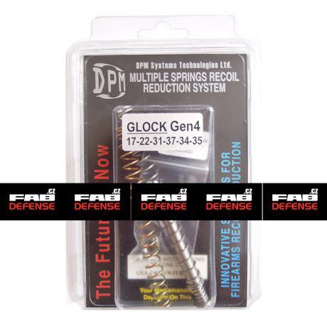 MS-GLG4/1 - Vratná pružina s redukcí zpětného rázu DPM pro Glock 17/22/31/34/35/37 (GEN 4)