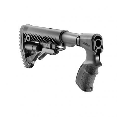 AGR-870 FK - Teleskopická pevná pažba M4 s pistolovou rukojetí pro Remington 870