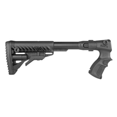 AGR-F870 FK - Teleskopická sklopná pažba M4 s pistolovou rukojetí pro Remington 870 černá