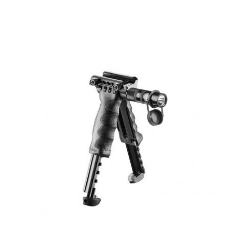 T-POD G2 SL - Dvojnožka s integrovanou svítilnou G2 černá