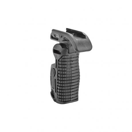 FGG-K - Taktická přední sklopná rukojeť s proměnlivou délkou - černá