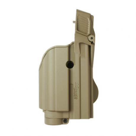 IMI-Z1500-TLH - Level 2 pouzdro na pistoli a svítilnu (laser) pro Sig P250 Compact, P250 FS, 227, P220, P226, Sig Pro2022, MK25, P320 9mm - pískové