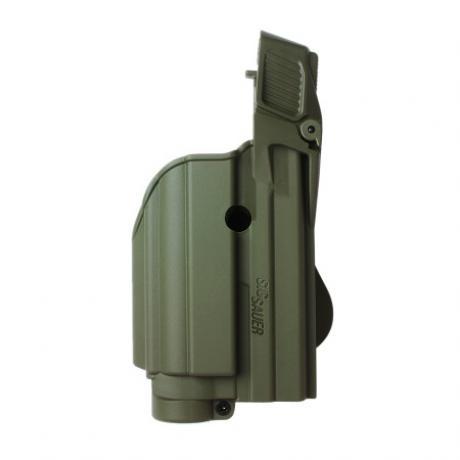 IMI-Z1500-TLH - Level 2 pouzdro na pistoli a svítilnu (laser) pro Sig P250 Compact, P250 FS, 227, P220, P226, Sig Pro2022, MK25, P320 9mm - zelené