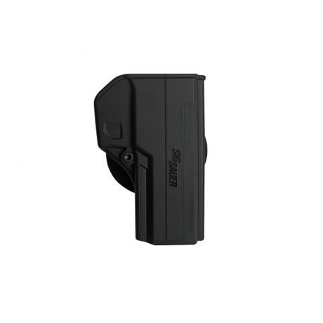 IMI-Z8040 - Jednodílné pouzdro pro Sig Sauer P250, P320 FS - černé