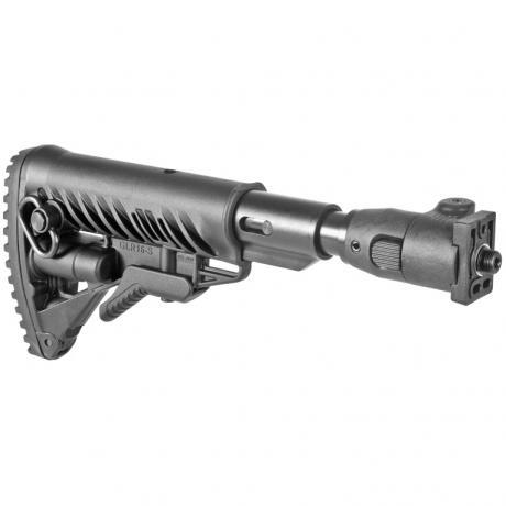 M4-VZP SB - Sklopná pažba pro SA-58 typ M16 s absorberem a polymerovým kloubem - černá
