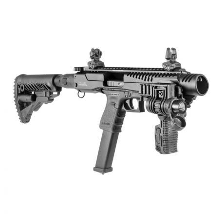 KPOS G2 GLOCK 17/19 M4 - Karabinová konverze KPOS G2 pro Glock (17, 18, 19, 19X, 22, 23, 34, 35, 45) M4 pažba